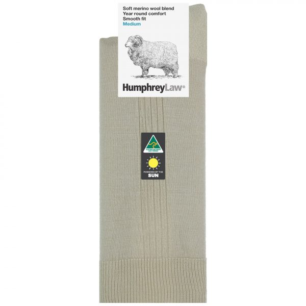 70% Fine Merino Wool Elastic Top Men's Sock (Style 15C)
