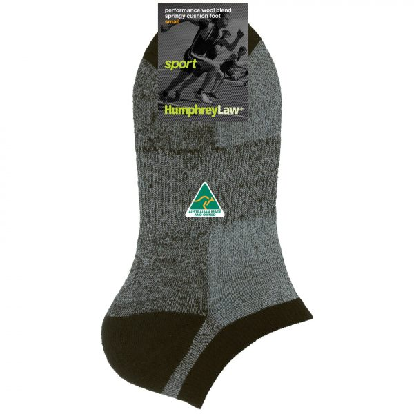 67% Wool Terry Cushion Sole Sport Sock (Style 36A)