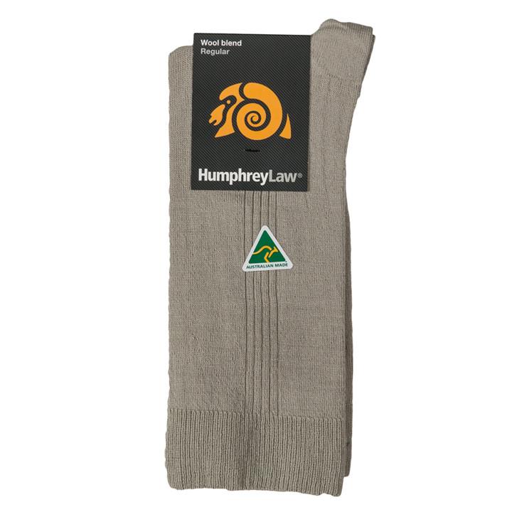 70% Fine Merino Wool Elastic Top Men's Sock - (15C)