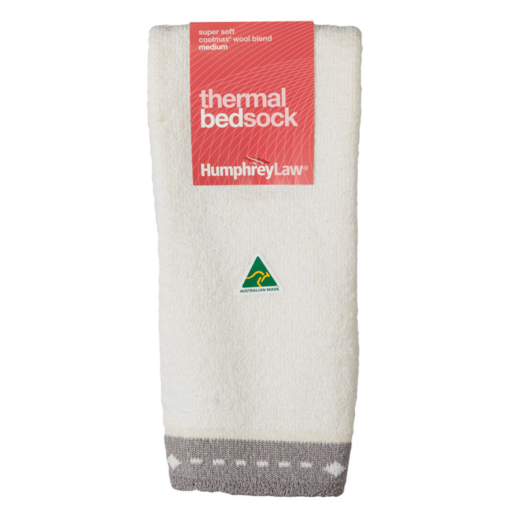 Super Soft Thermal Bed Sock - (28B)