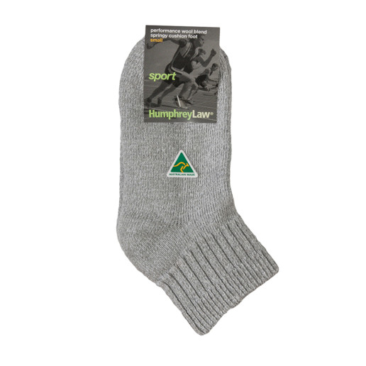 Wool/Coolmax Cushion Sole Sport Health Sock®  - (34A)