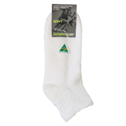 Wool/Cotton Cushion Sole Sport Sock - (47A)