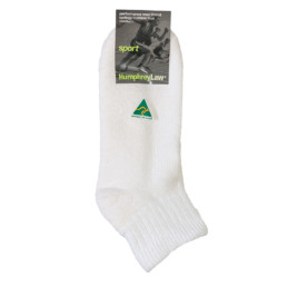 Wool/Cotton Cushion Sole Sport Sock - (47B)