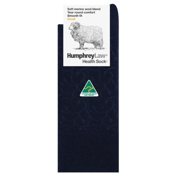 60% Fine Merino Wool Ladies' Health Sock® – Lace Vine Pattern (Style 85C)