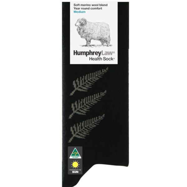 60% Fine Merino Wool Health Sock® – Fern Pattern (Style 85C)