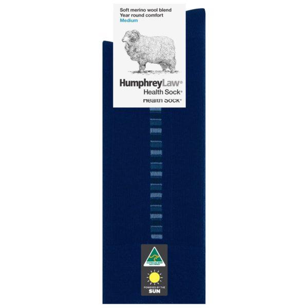 60% Fine Merino Wool Men's Health Sock® – Linear Pattern (Style 85C)