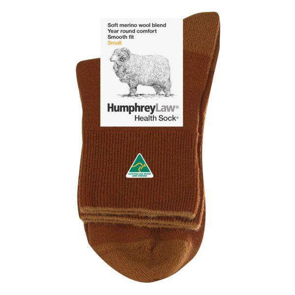 57.5% Fine Merino Wool Short Leg Health Sock® (Style 86B)